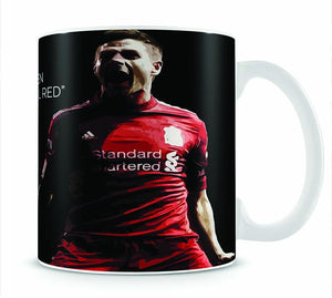 Steven Gerrard Liverpool Red Mug - Canvas Art Rocks - 1
