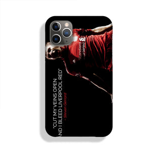 Steven Gerrard Liverpool Red Phone Case iPhone 11 Pro Max