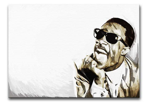 Stevie Wonder Legend Print - Canvas Art Rocks - 1