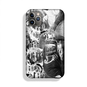 Stirling Moss and his Vanwall team mate Tony Brooks Phone Case iPhone 11 Pro Max