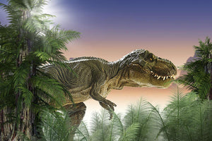Stock Photo dinosaur Wall Mural Wallpaper - Canvas Art Rocks - 1