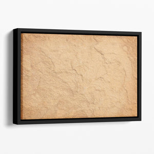 Stone background Floating Framed Canvas - Canvas Art Rocks - 1