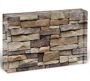 Stone wall texture Acrylic Block - Canvas Art Rocks - 1