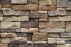 Stone wall texture Wall Mural Wallpaper - Canvas Art Rocks - 1
