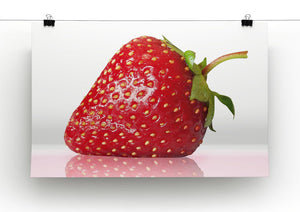 Juicy Strawberry Print - Canvas Art Rocks - 2