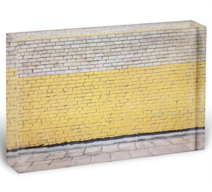 Street wall background Acrylic Block - Canvas Art Rocks - 1