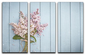 Summer gentle bouquet of lilac flowers 3 Split Panel Canvas Print - Canvas Art Rocks - 1