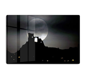 Super Moon at Mow Cop HD Metal Print - Canvas Art Rocks - 1