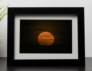 Super moon Framed Print - Canvas Art Rocks - 1