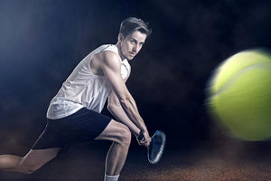 Tennis Wall Mural Wallpaper - Canvas Art Rocks - 1