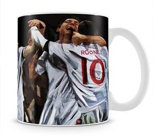 Terry Lampard Gerard and rooney England Mug - Canvas Art Rocks - 1