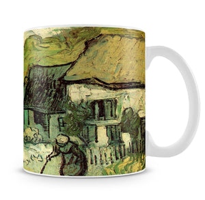 Thatched Cottages in Jorgus by Van Gogh Mug - Canvas Art Rocks - 4