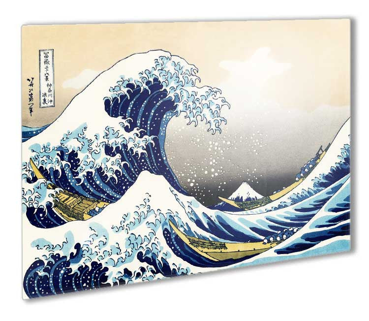 78ec816d43fc3 The Great Wave Off Kanagawa Metal Print - 12