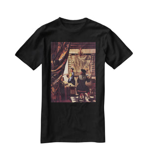 The Allegory of Painting by Vermeer T-Shirt - Canvas Art Rocks - 1