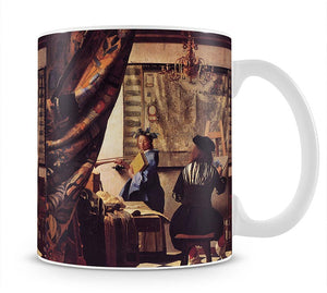 The Allegory of Painting by Vermeer Mug - Canvas Art Rocks - 1
