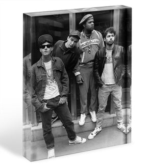 The Beastie Boys Acrylic Block - Canvas Art Rocks - 1