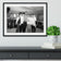 The Beatles meet Muhammad Ali Framed Print