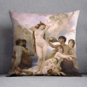 The Birth of Venus By Bouguereau Cushion