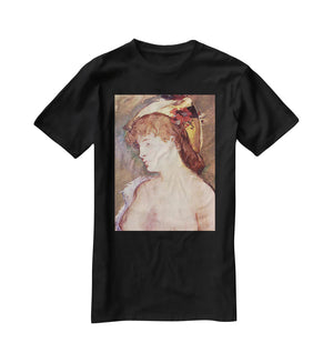 The Blond Nude by Manet T-Shirt - Canvas Art Rocks - 1