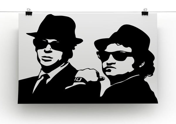 The Blues Brothers Canvas Print Amp Poster Canvas Art Rocks