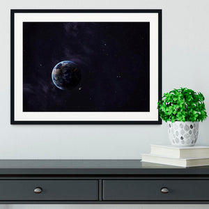 The Earth from space showing all they beauty Framed Print - Canvas Art Rocks - 1