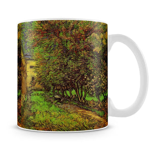 The Garden of Saint-Paul Hospital by Van Gogh Mug - Canvas Art Rocks - 4
