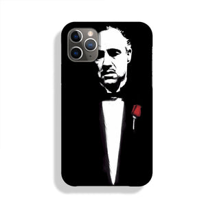 The Godfather Don Corleone Phone Case iPhone 11 Pro Max