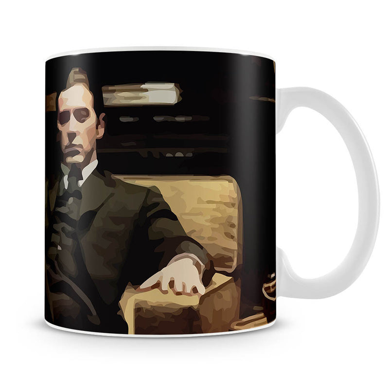 The Godfather Michael Corleone in Armchair Mug - Canvas Art Rocks