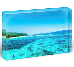 The Great Barrier Reef Acrylic Block - Canvas Art Rocks - 1
