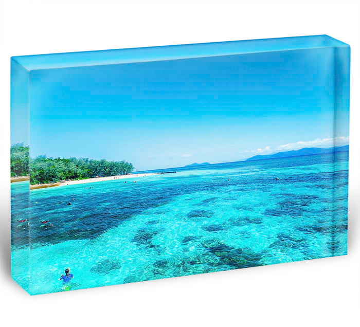 The Great Barrier Reef Acrylic Block