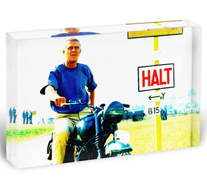 The Great Escape Acrylic Block - Canvas Art Rocks - 1