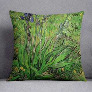 The Iris by Van Gogh Cushion
