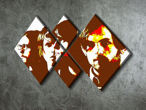 The Kings of Leon 4 Square Multi Panel Canvas - Canvas Art Rocks - 2