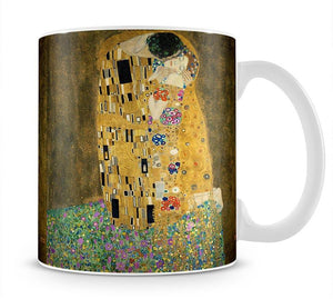 The Kiss by Klimt 2 Mug - Canvas Art Rocks - 1