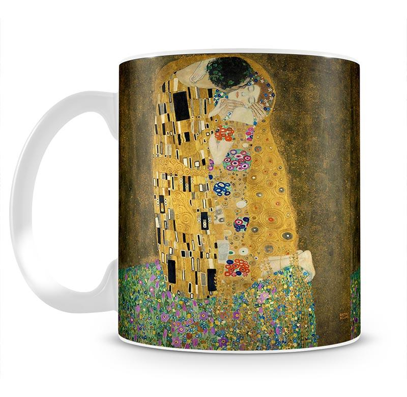 The Kiss by Klimt 2 Mug - Canvas Art Rocks - 2