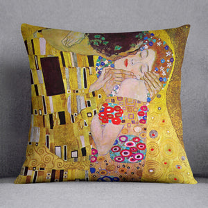 The Kiss by Klimt Cushion