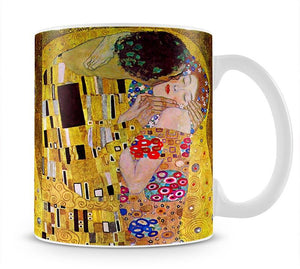 The Kiss by Klimt Mug - Canvas Art Rocks - 1