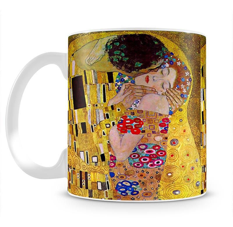 The Kiss by Klimt Mug - Canvas Art Rocks - 2