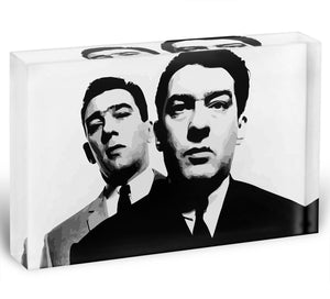 The Kray Twins Acrylic Block - Canvas Art Rocks - 1