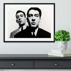 The Kray Twins Framed Print - Canvas Art Rocks - 1
