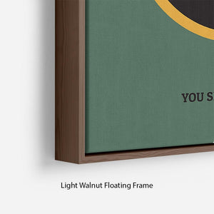 The Lord Of The Rings Fellowship If The Ring Minimal Movie Floating Frame Canvas - Canvas Art Rocks - 8