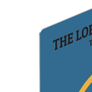 The Lord Of The Rings The Two Towers Minimal Movie HD Metal Print