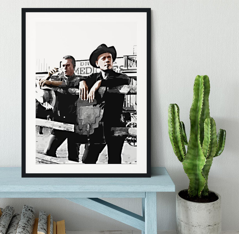 The Magnificent 7 Framed Print - Canvas Art Rocks - 1