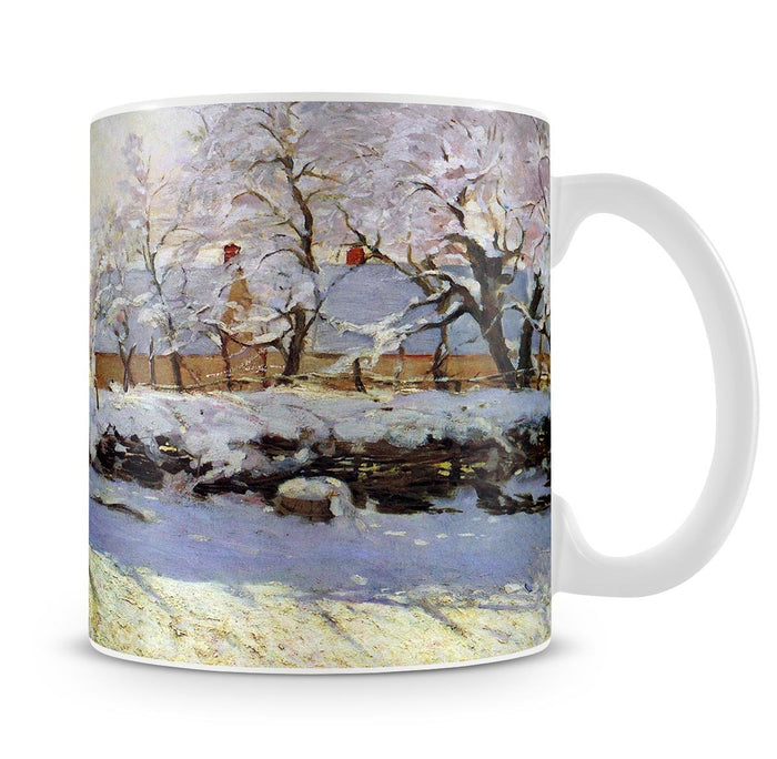 The Magpie by Monet Mug
