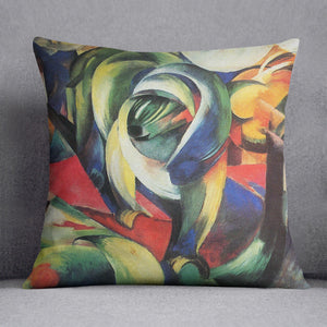 The Mandrill by Franz Marc Cushion