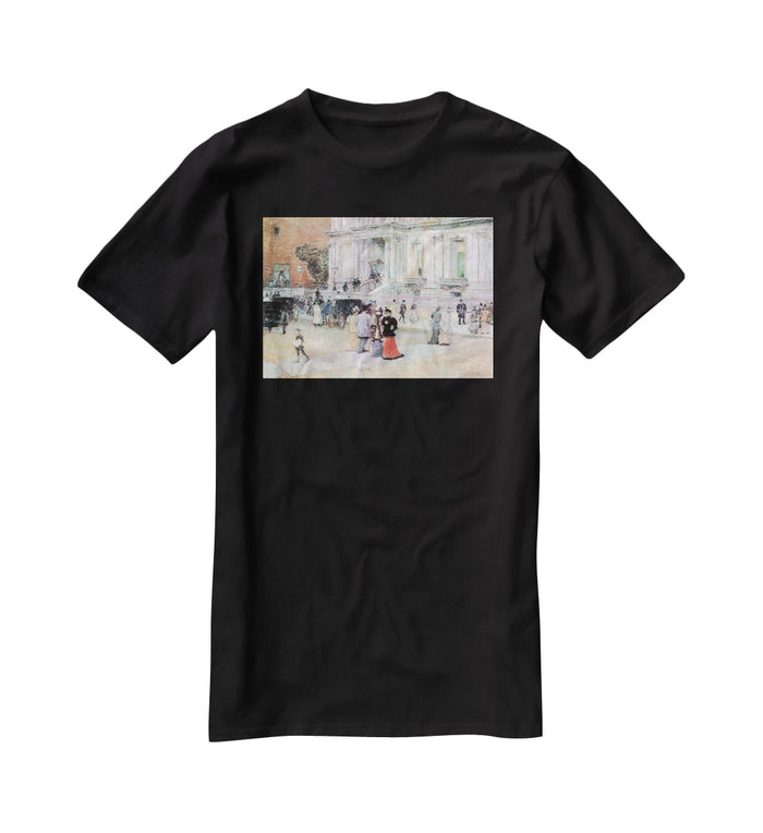 The Manhattan Club The Villa of the Stewarts by Hassam T-Shirt
