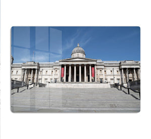 The National Gallery London under Lockdown 2020 HD Metal Print - Canvas Art Rocks - 1