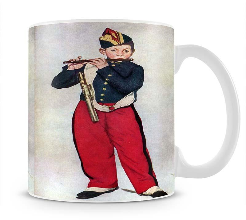 The Piper by Manet Mug - Canvas Art Rocks - 1