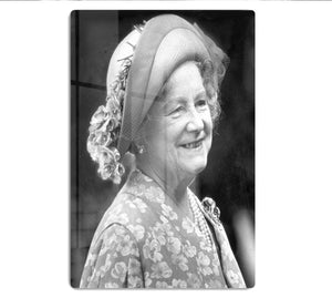 The Queen Mother at the Epsom Derby HD Metal Print