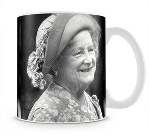 The Queen Mother at the Epsom Derby Mug - Canvas Art Rocks - 1